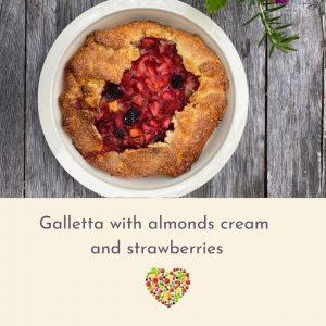 galletta with strawber